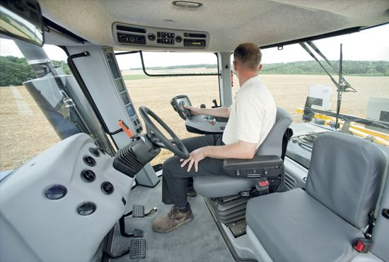New Holland Agriculture Operator Environment